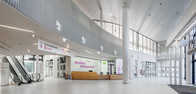Krankenhaus Nord, Klinik Floridsdorf, Eingangsbereich